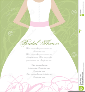 Couples Wedding Shower Clipart.