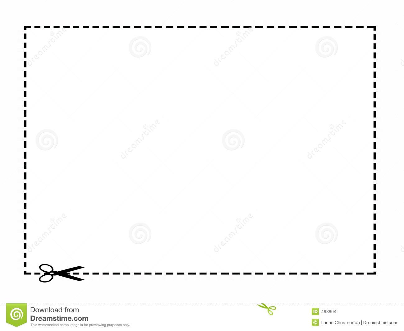 Scissor Border Clip Art.