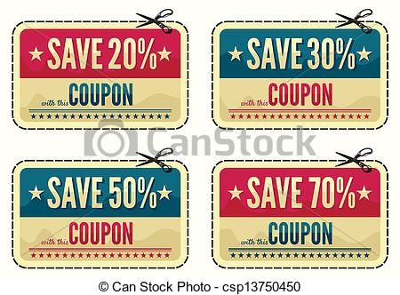 Coupon Illustrations and Clip Art. 48,642 Coupon royalty free.