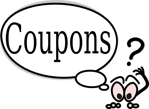 Coupon Clipart.