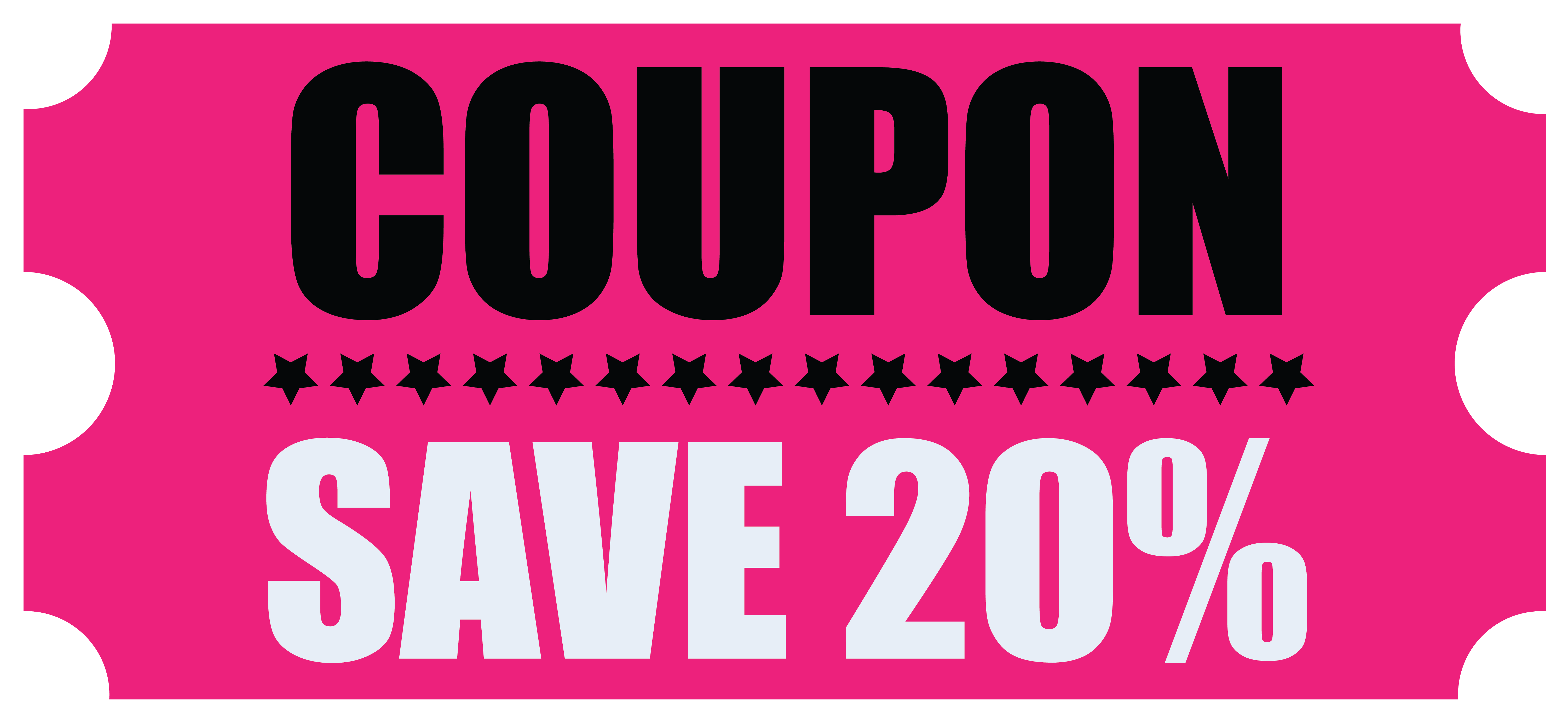Black Friday Save Coupon PNG Clipart Image.