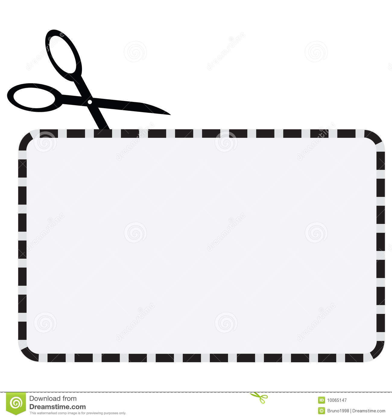 Blank Coupon Clipart.