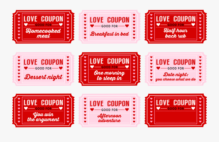 Clip Art Christmas Coupon Book Template.