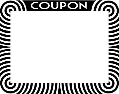Coupon Cliparts.