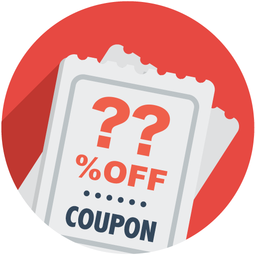 Coupon High Quality PNG.
