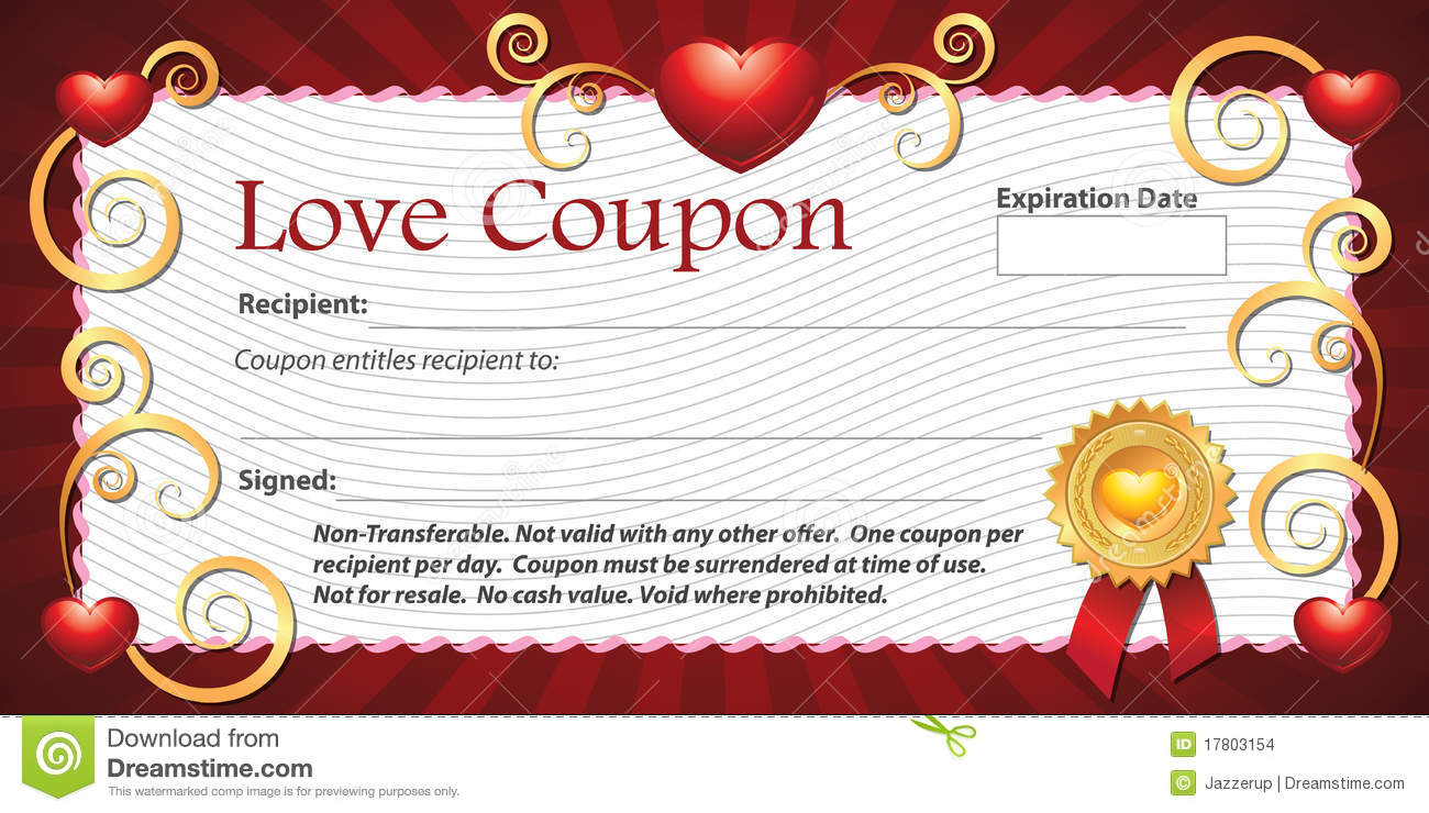 Free Clipart Coupon Template.