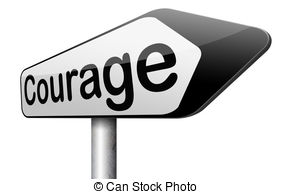 courage clip art.
