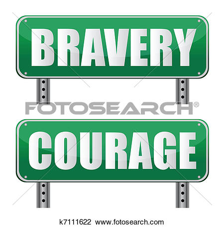 Clipart of Courage k14292451.