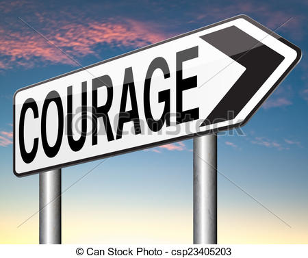 Courage cliparts.