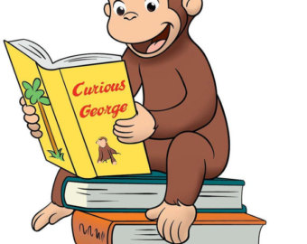 Curious george clipart free 1 » Clipart Station.