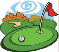 Free golf course clipart.