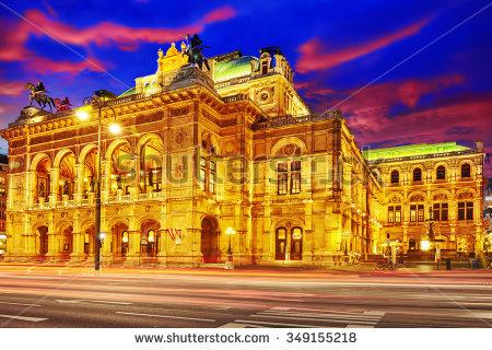 Wiener Staatsoper Stock Photos, Royalty.