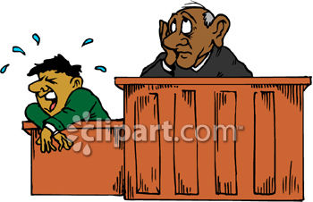 Court Cases Clipart.