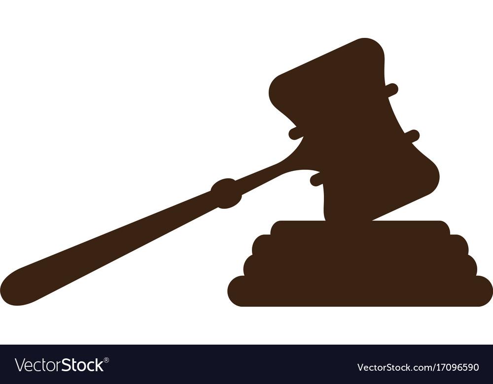 Court hammer logo.