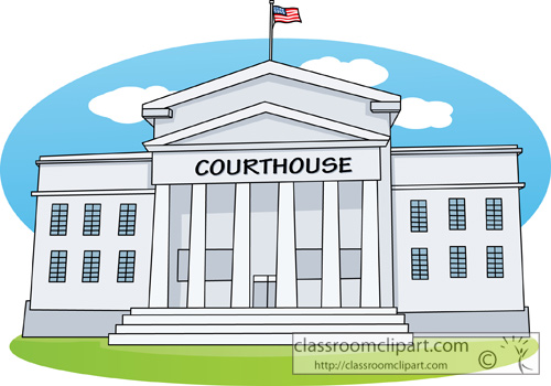 Courthouse Clipart.