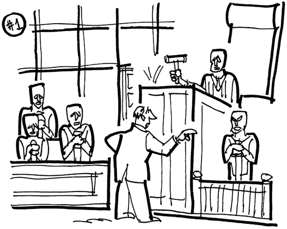 Courtroom Clipart.
