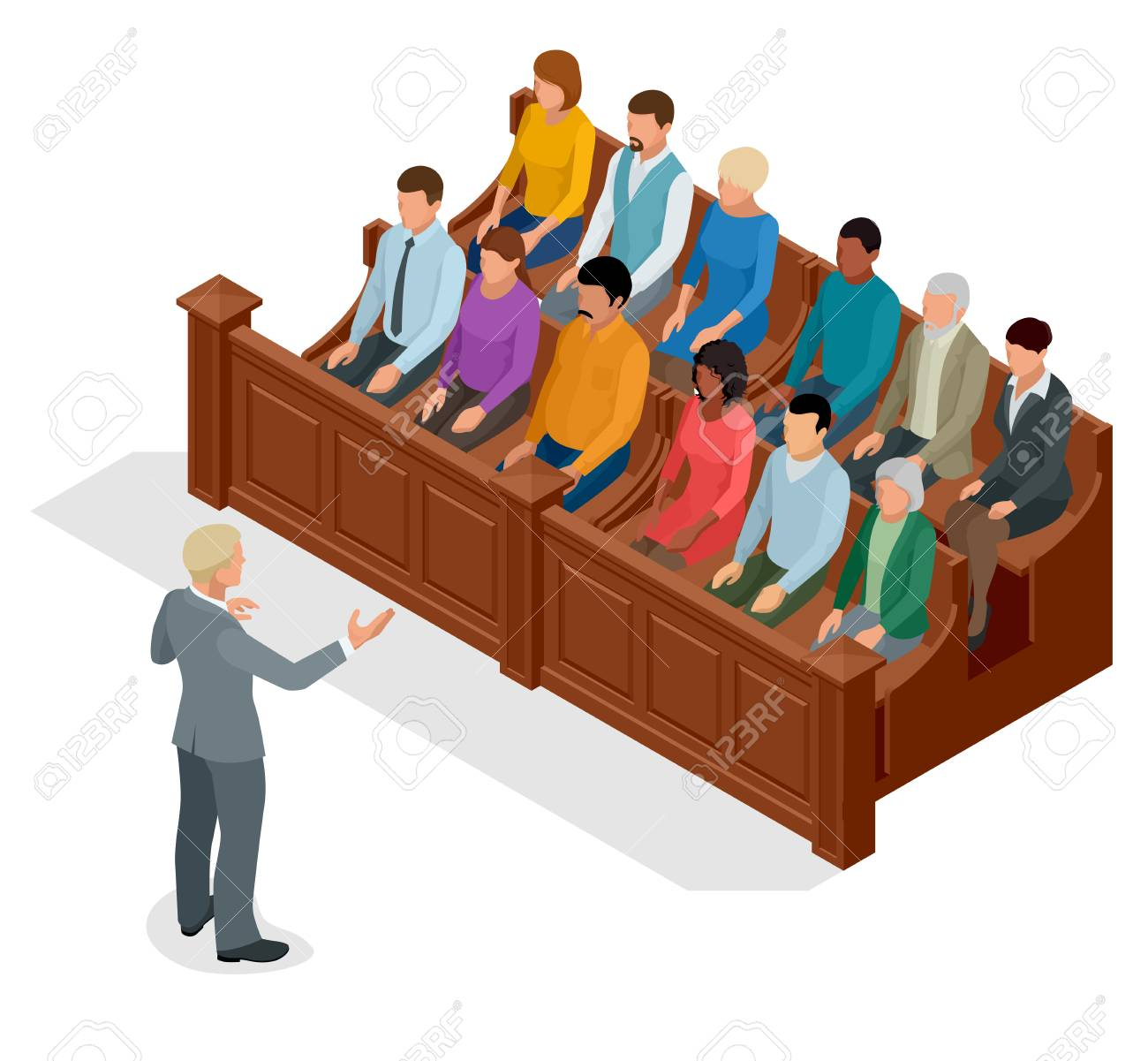166 Courtroom free clipart.
