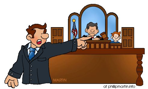 Courts clipart.