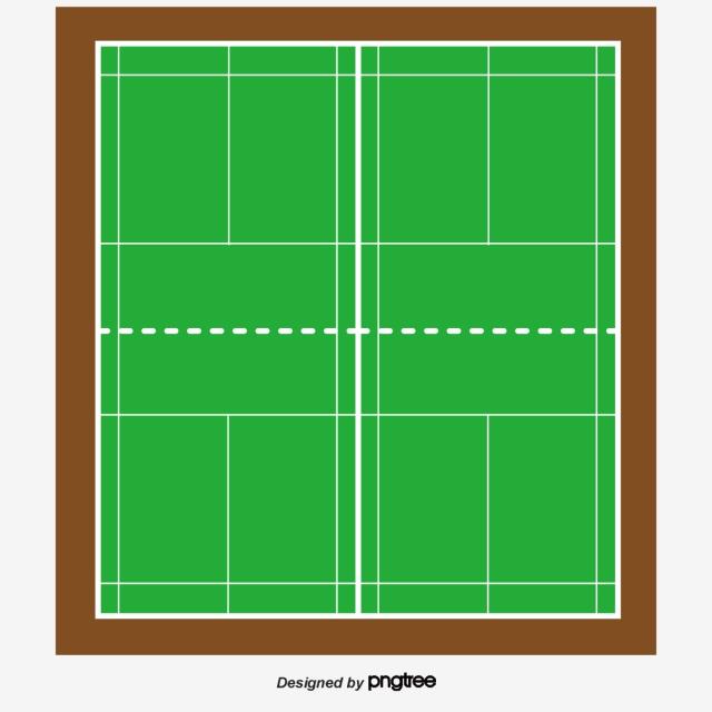 Badminton Court PNG Images.