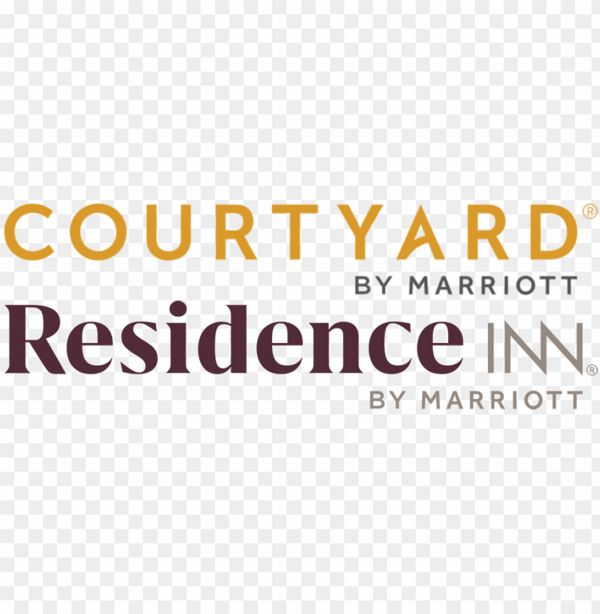 logo for courtyard/residence inn downtown/convention.