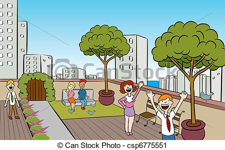 Courtyard Illustrations and Clip Art. 634 Courtyard royalty free.