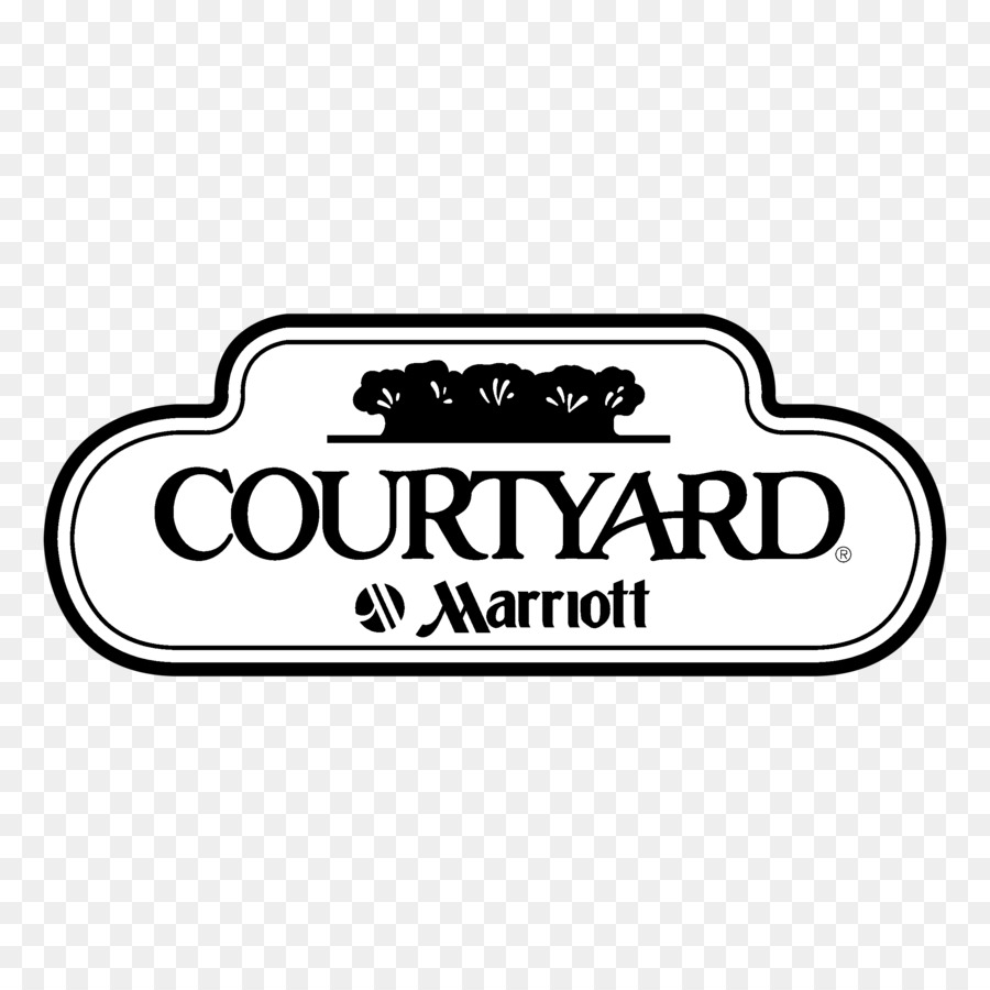 Courtyard By Marriott Text png download.
