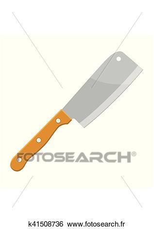 Couteaux Clipart.
