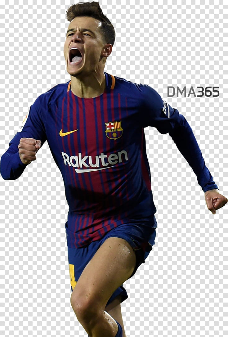 Philippe Coutinho transparent background PNG clipart.