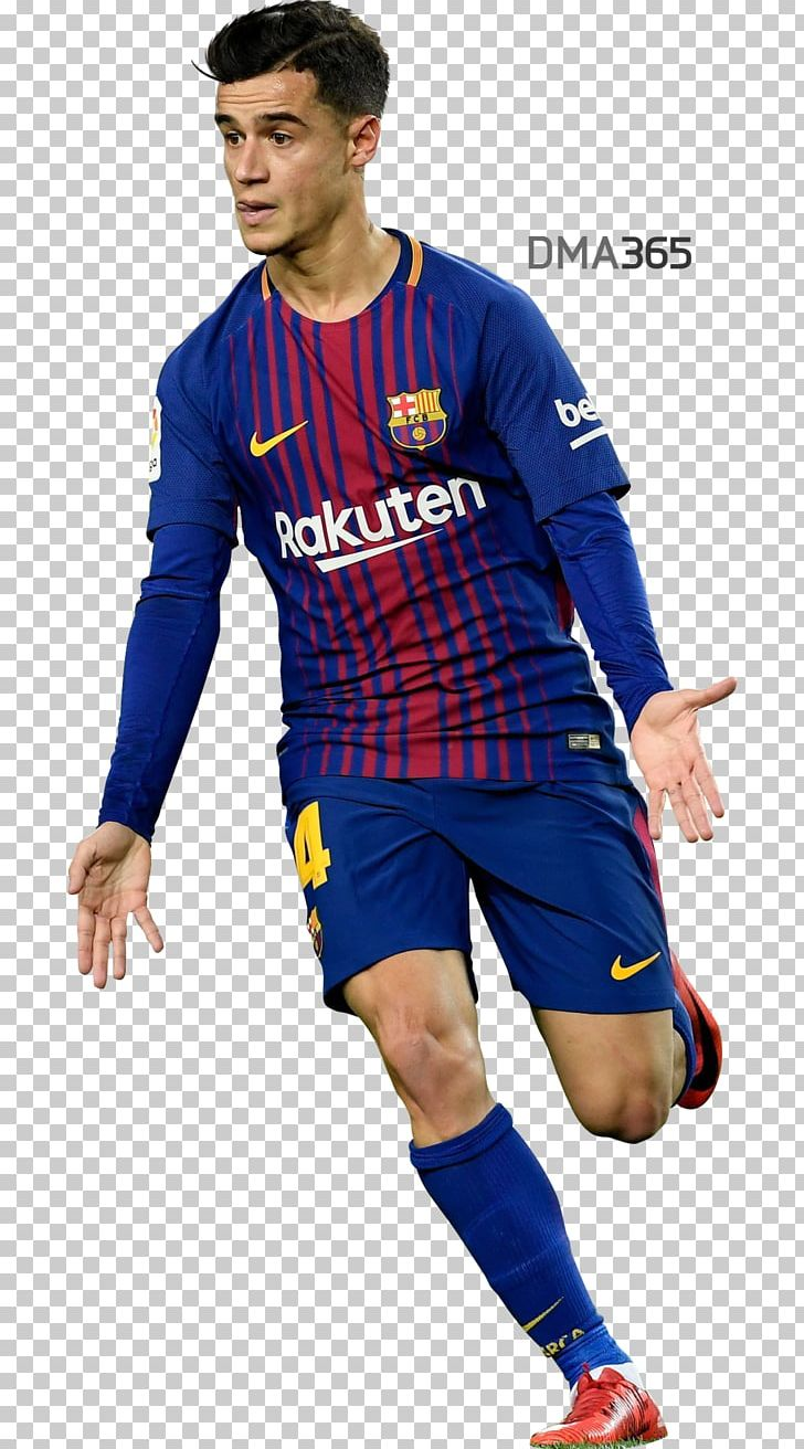 Philippe Coutinho FC Barcelona Football Player 2017.