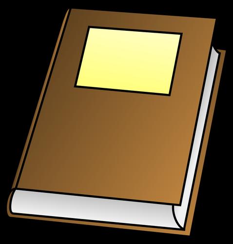 Vector illustration de la couverture livre.