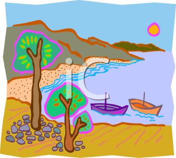 Cove Clip Art.