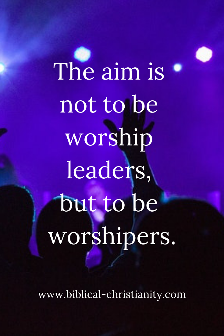 The object of worship is God. He alone is Yahweh the Lord, the.