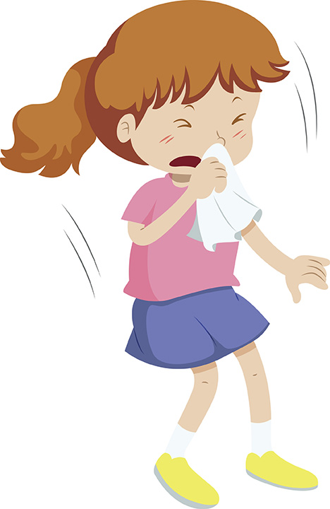 Cover Your Mouth When You Cough Clipart.