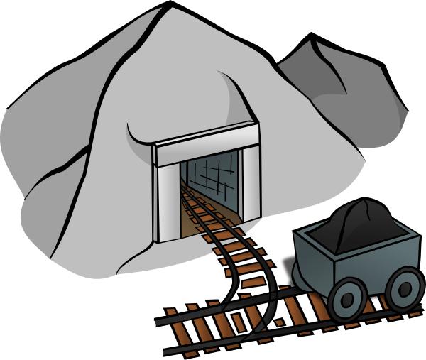 Coal mine clipart.