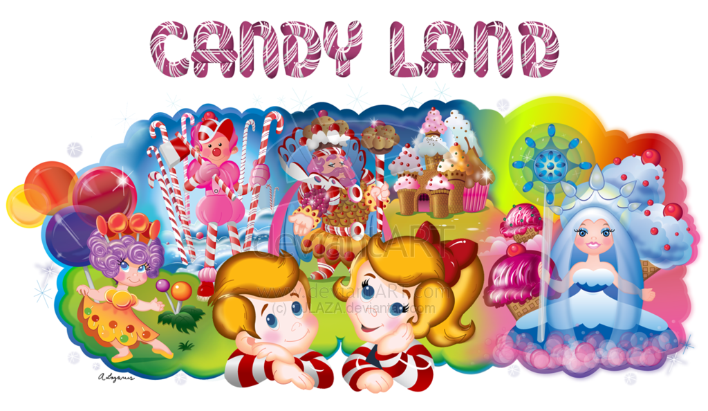 Candy land game piece clipart black and white.