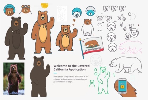 Free Bear Clip Art with No Background , Page 5.
