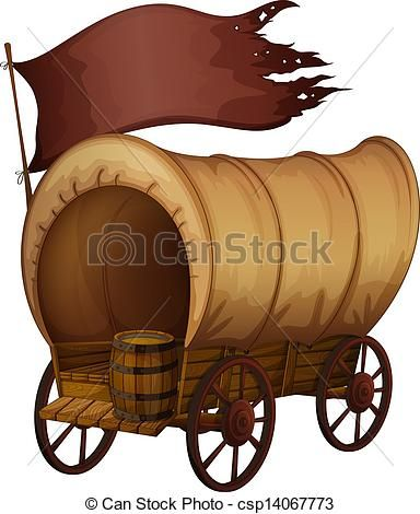 free clip art covered wagons.