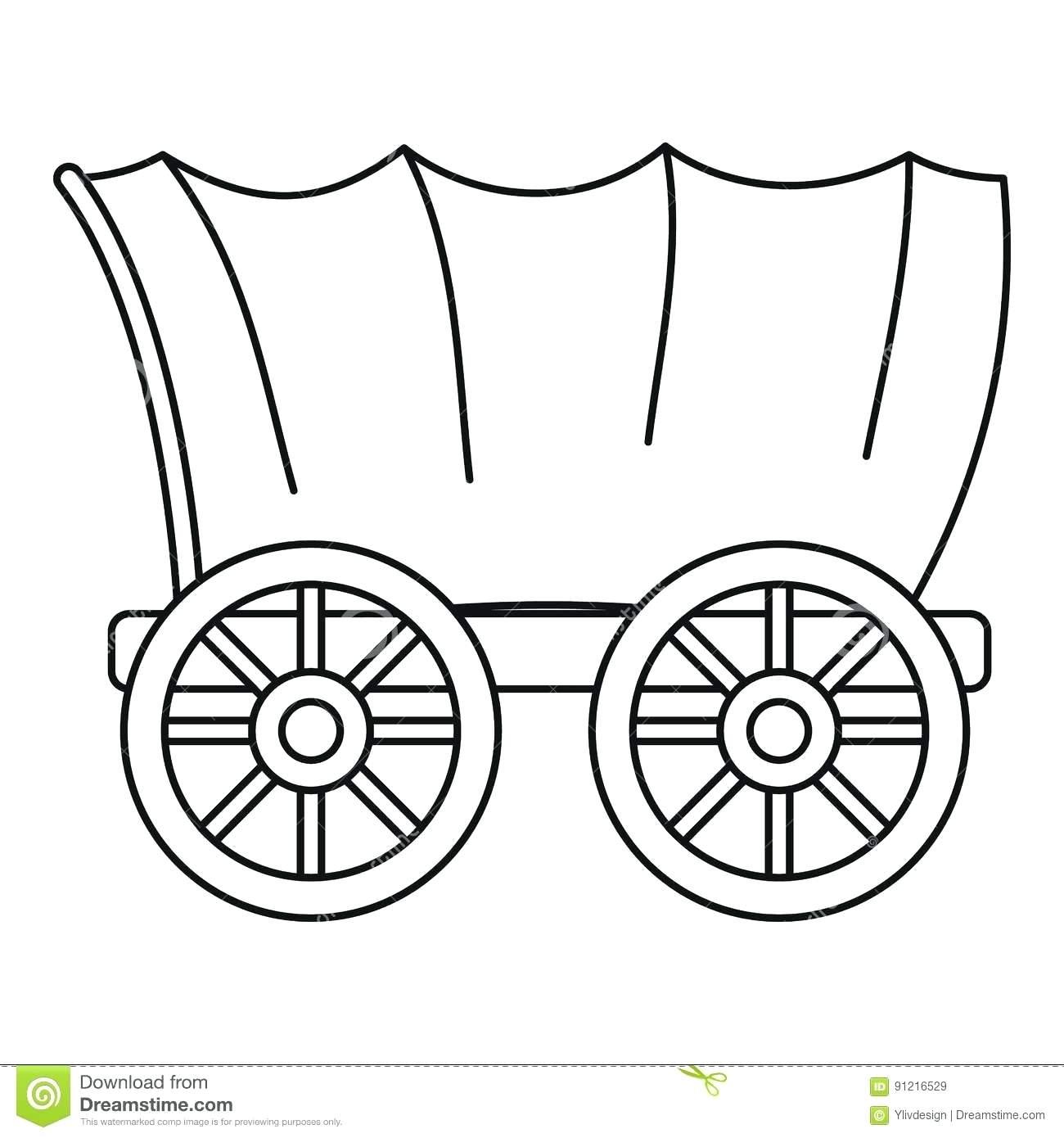 1527 Wagon free clipart.