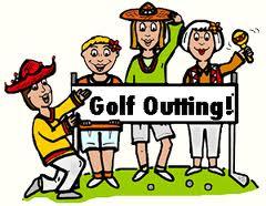 Ladies golf clipart