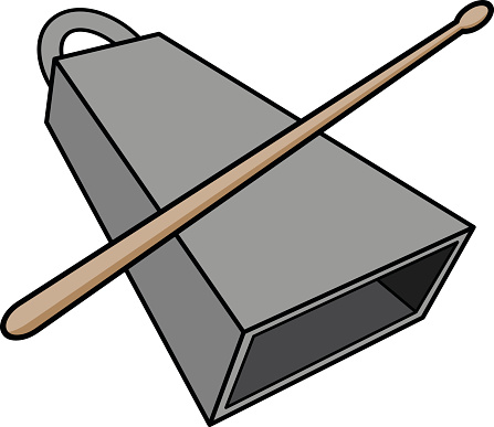 Cowbell Clipart.