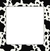 Cow Print Clipart.
