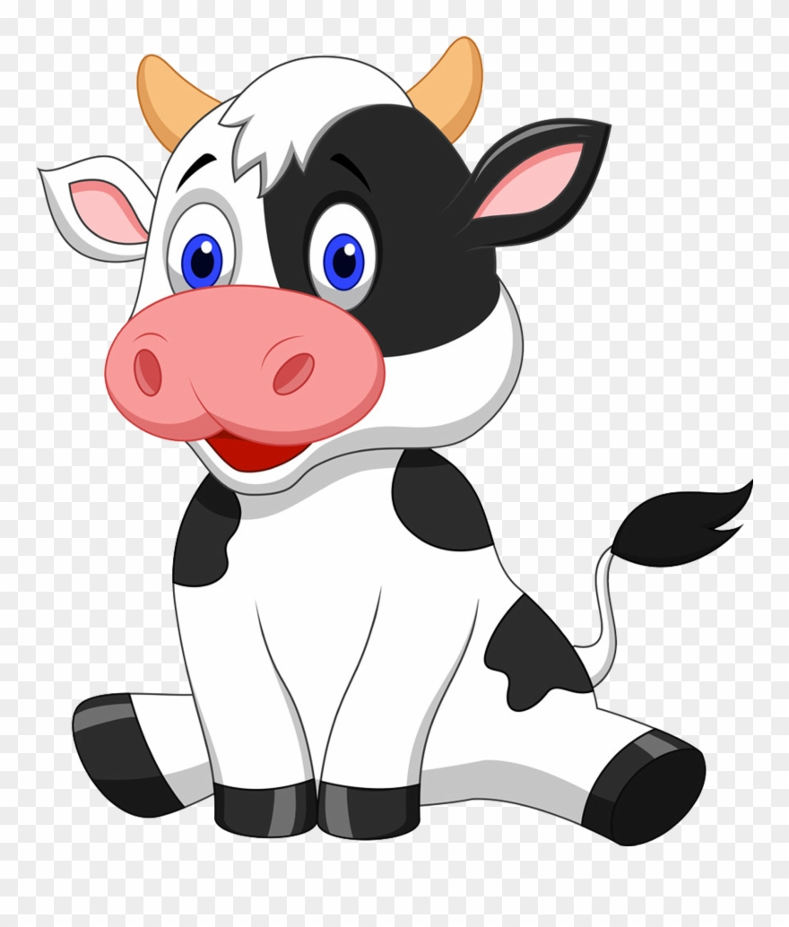 Cow Clip Art Transparent Background Picture Transparent.