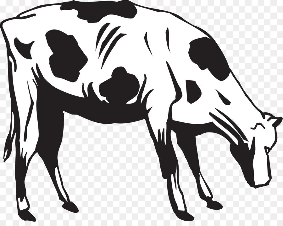 Cow Cartoon clipart.