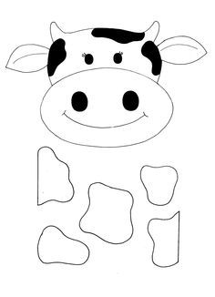 Cow Face Clipart Black And White (104+ images in Collection) Page 3.