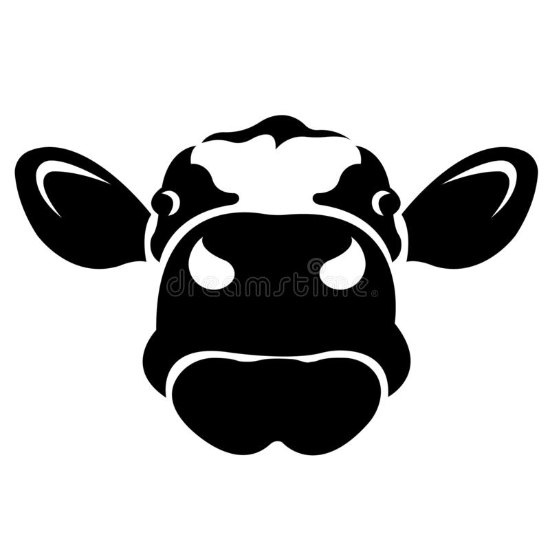 Face Cow Stock Illustrations.
