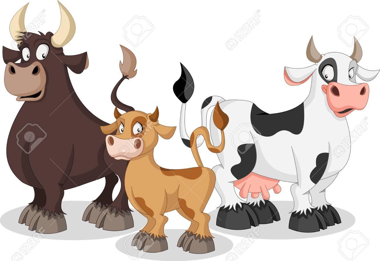 Cow family clipart 4 » Clipart Portal.