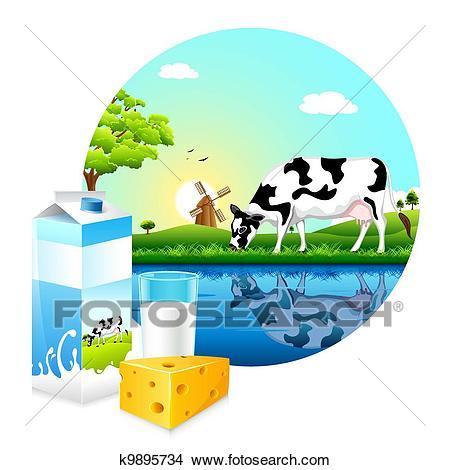 Dairy Farm Clipart.