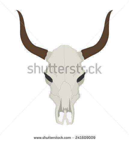 Steer Skull Stock Images, Royalty.