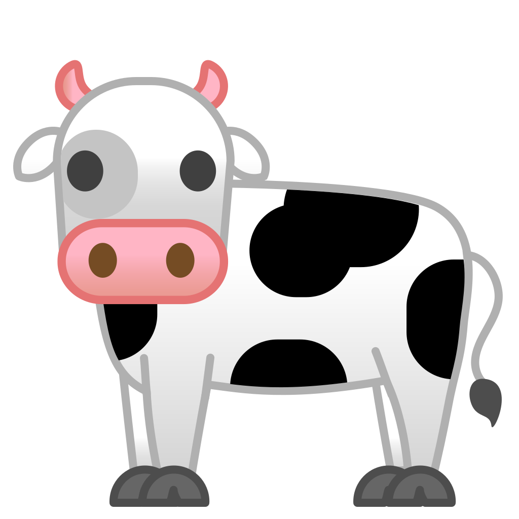 Cow clipart emoji, Cow emoji Transparent FREE for download.