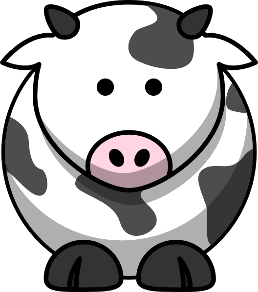 Cow Icon Clip Art at Clker.com.